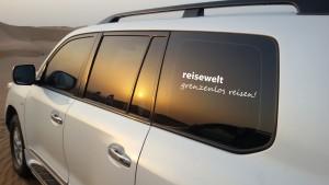 Weltweit Reisen Wüstensafari